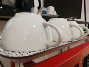 complimentary tea and coffee